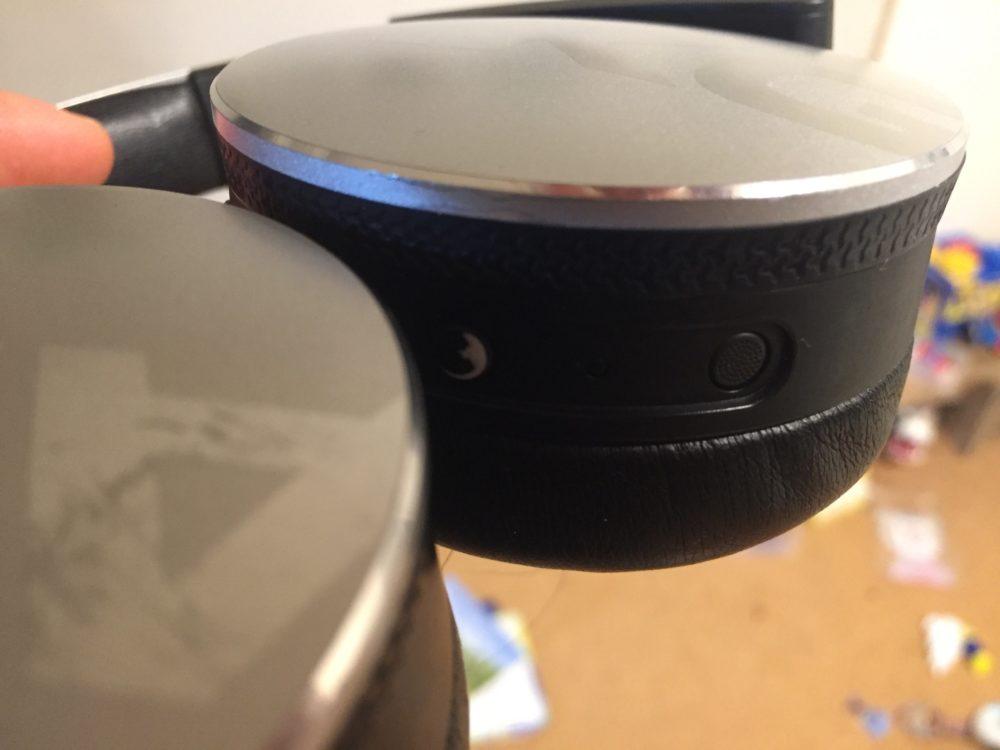Bluetoothのスイッチに当たってしまう