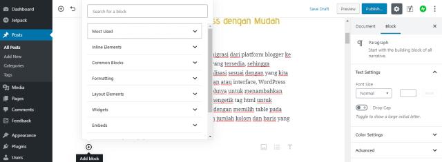 migrasi blogger ke wordpress