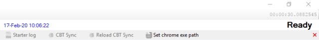 Setting Chrome exe path