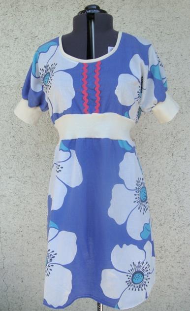 blåblom muddklänning