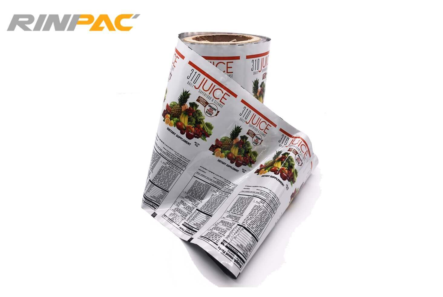 RinPAC Rollstock or Roll Film 3 - Flexible packaging films
