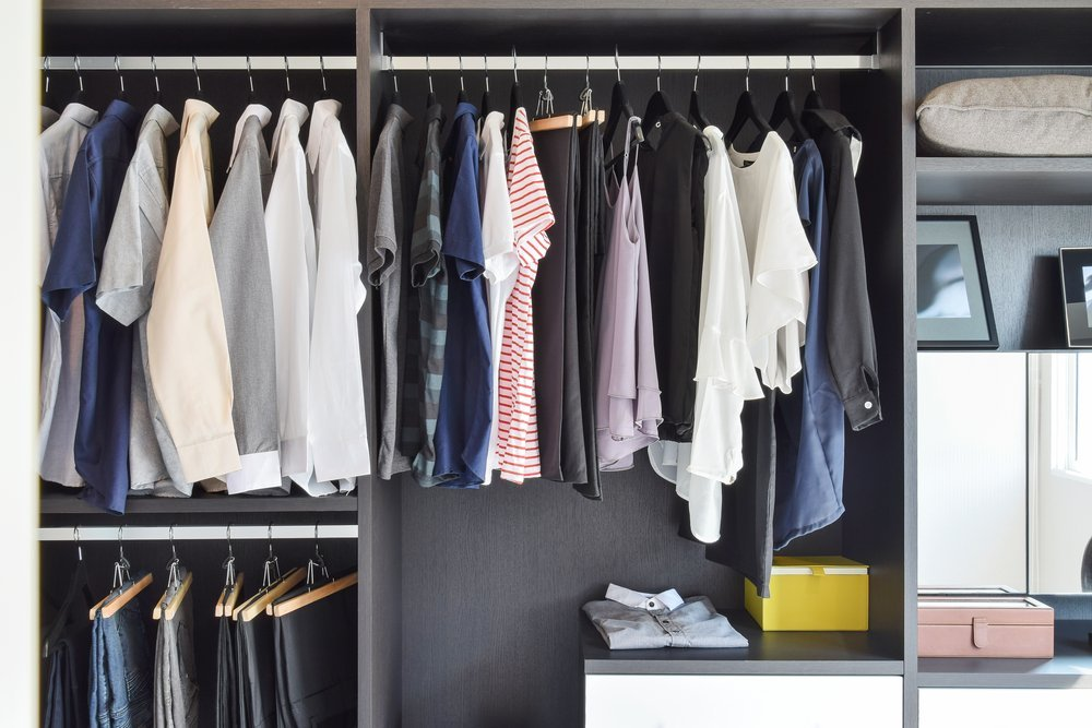 Image result for how to hang your clothes in your closet