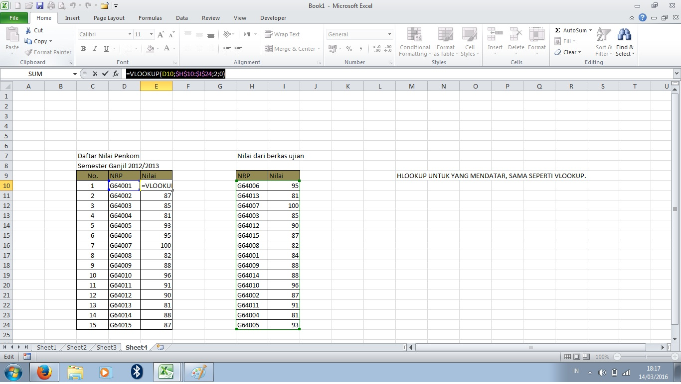 Ngoding Di Mc Excel My Way In The Words