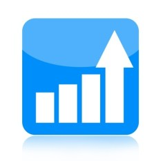 17229769-business-growth-icon-with-upward-arrow-isolated-on-white-background