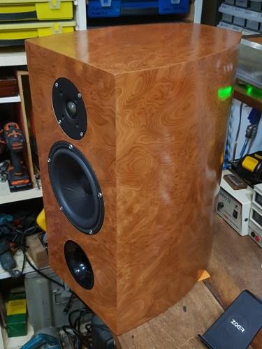 Sistema de som DIY de alta fidelidade