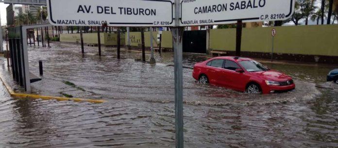 Lluvias generan inundaciones en Mazatlán – Ríodoce