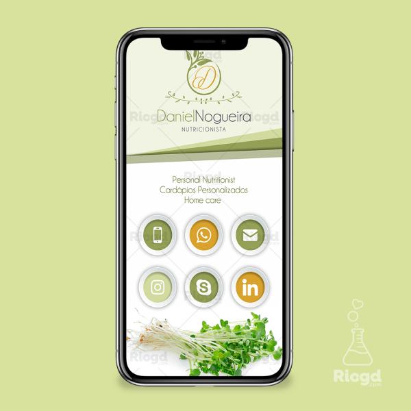 Cartão Digital Nutrição Olive