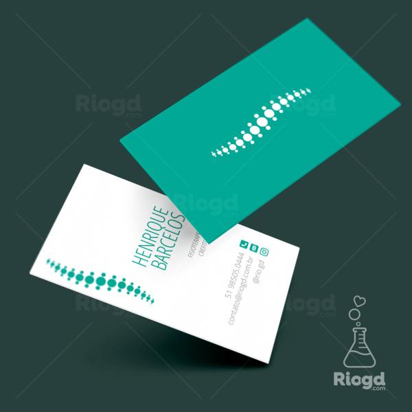 Cartão de Visita Fisioterapia Físio Green