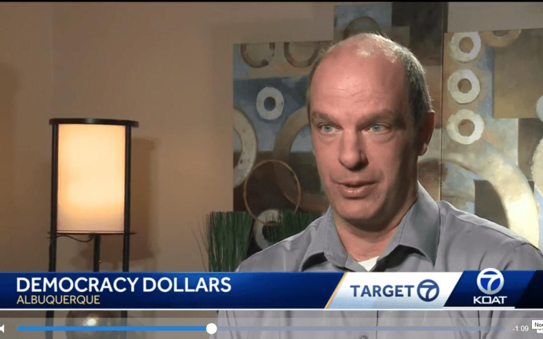 Talking Democracy Dollars w/ KOAT Channel 7