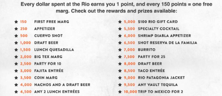 Rio Loyalty Program