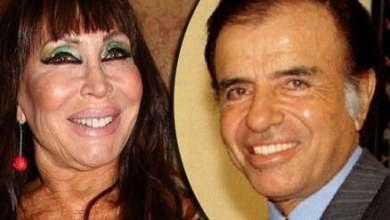 Photo of Aparecieron fotos de las cenas que Moria Casán le organizaba a Carlos Menem en Olivos