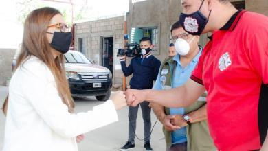 Photo of Bomberos Águilas de Acero cumplió años y recibió la visita de autoridades