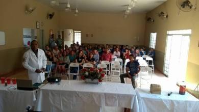 Foto de Secretaria de Saúde de Riolândia promove palestra sobre o combate as drogas e o álcool.