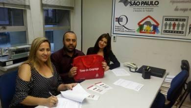 Foto de Prefeitura de Riolândia faz adesão ao Programa Time de Emprego.