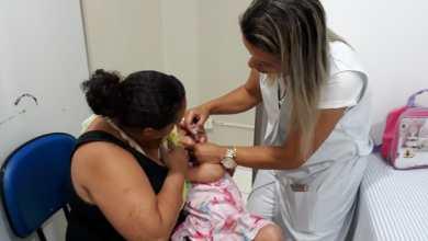 Foto de Campanha de vacinação de Pólio e Sarampo