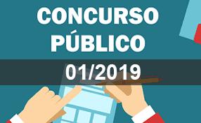 Foto de Edital – Homologação Inscrições – Concurso 01/2019