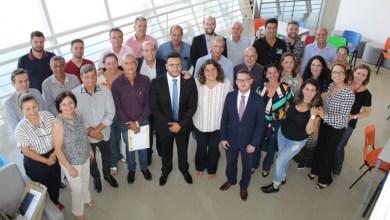 Foto de Maravilhas do Rio Grande: Prefeitos da RT Maravilhas do Rio grande se reúnem com o Secretário do Ministério