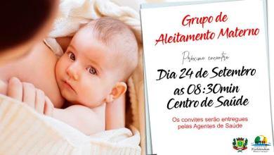 Foto de Encontro do Grupo de Aleitamento Materno