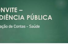 Foto de Convite Audiência Pública – Saúde