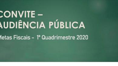 Foto de Convite Audiência Pública