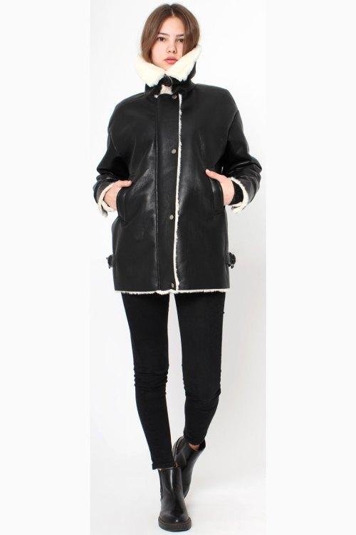 Куртка из дублированной ткани с экомехом