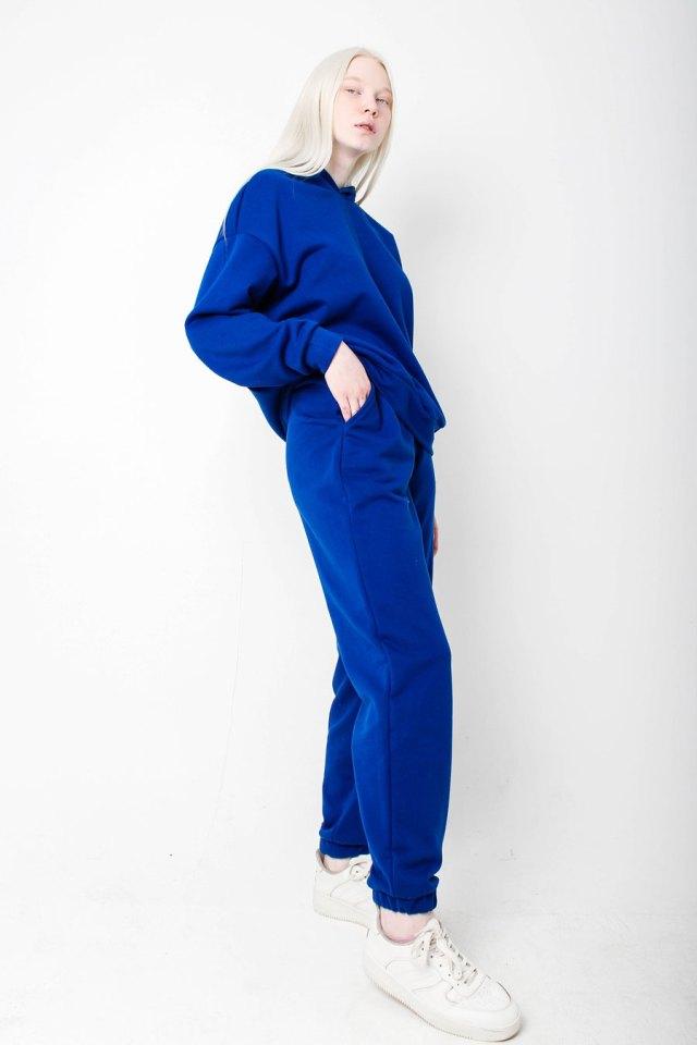 Костюм спортивный синий