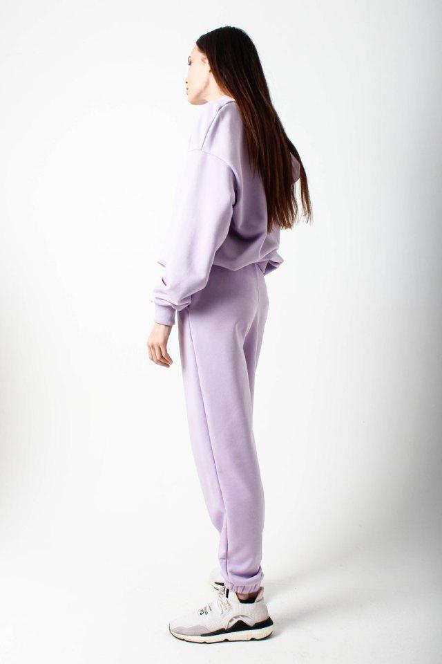 костюм спортивный женский лиловый