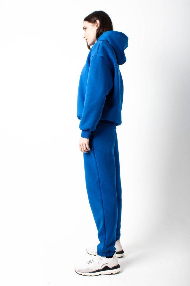 костюм спортивный женский голубой