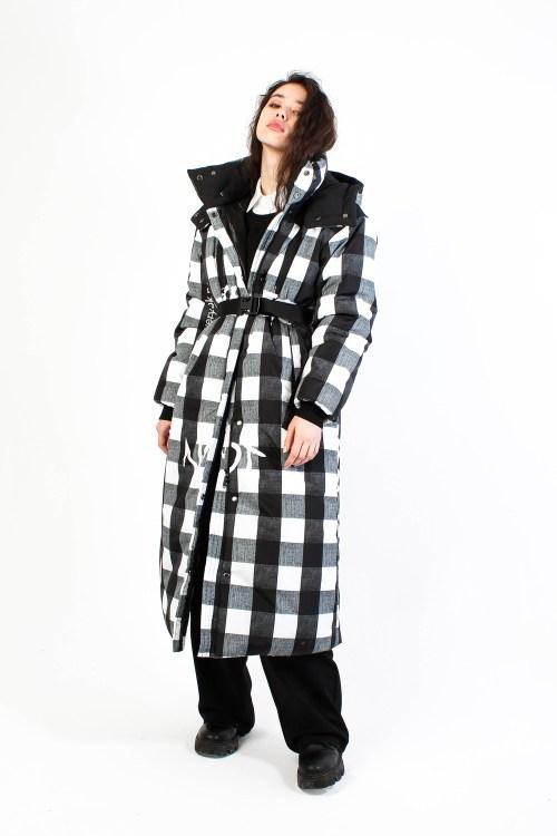 Утепленное пальто Square