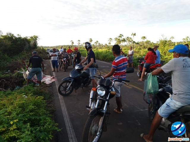 Jovem morre ao colidir motocicleta em animal entre Esperantina e  Morro do Chapéu