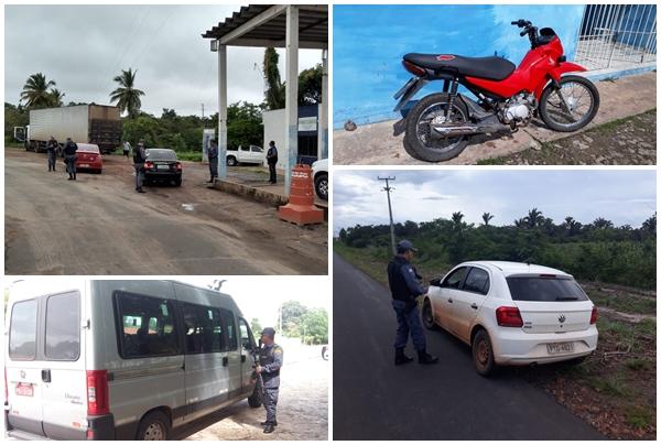 16º Batalhão da Polícia do Maranhão intensifica ações preventivas e recupera 02 motocicletas em Buriti, 01 em Milagres, 01 em Urbano Santos, 01 em São Bernardo