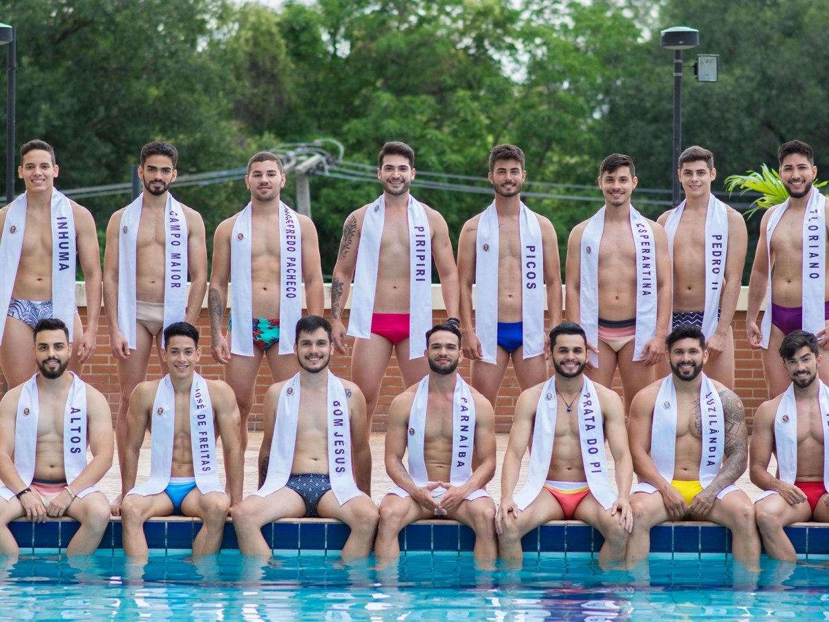 Hoje! 15 candidatos disputam o título de Mister Piauí Universo 2019, Luzilândia e Joaquim Pires na disputa