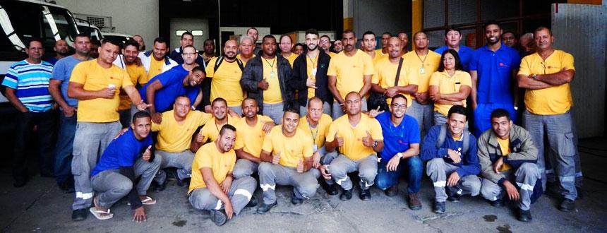 Equipe de Logística - Rio Soft Ice Brasil
