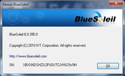 BlueSoleil Key
