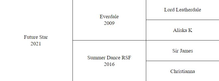 Picture of Summer Dance RSF Pedigree
