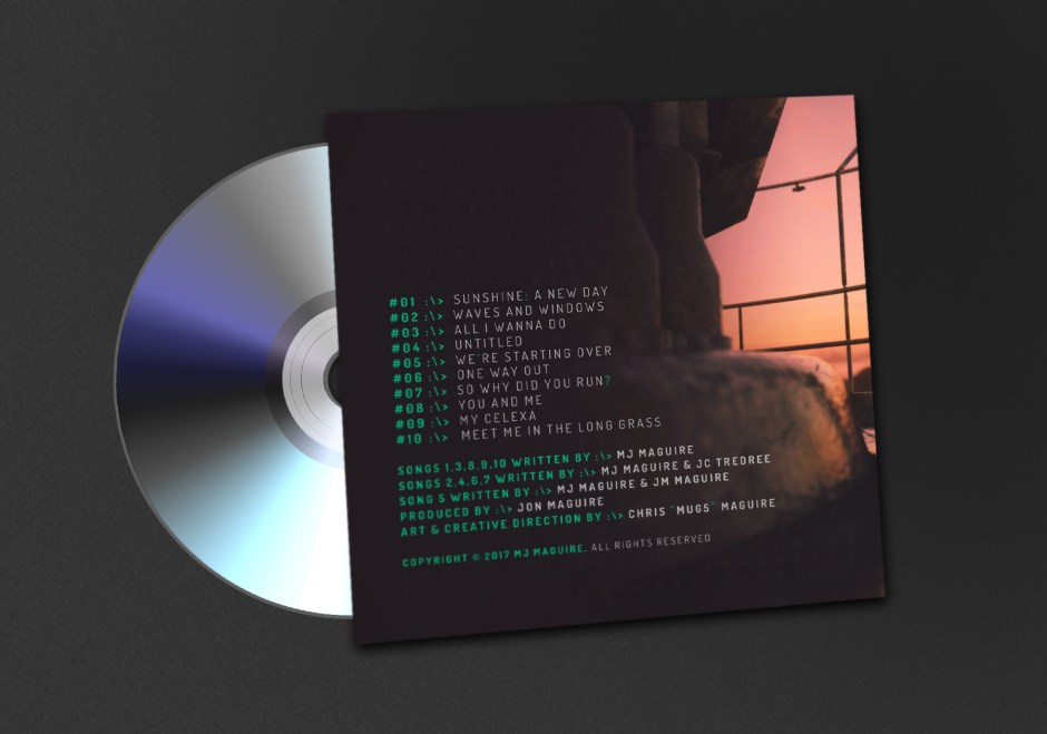 Mark Maguire: Inside The Simulation (Back Cover)