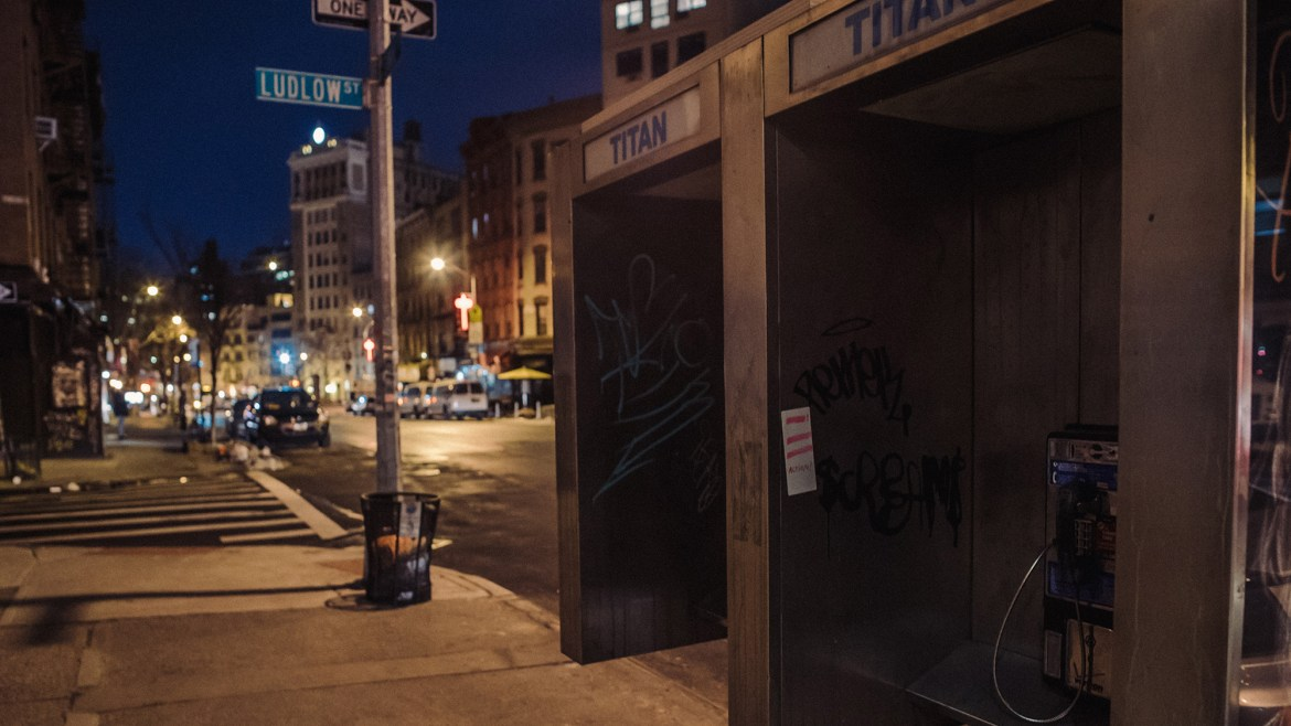 RIOT | Our Culture: Old Phone Booths in Lower East Side of Manhattan