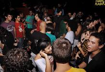 Fosfobox club dance floor Copacabana, Rio de Janeiro, Brazil News