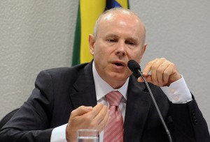 Minister of Economy Guido Mantega in Brasilia this month about the risk of increased inflation, Rio de Janeiro, Brazil, Business, Economic News