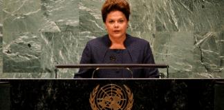 President Rousseff speaking at the United Nations, Brazil News