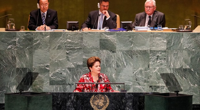 President Dilma Rousseff addresses the UN General Assembly