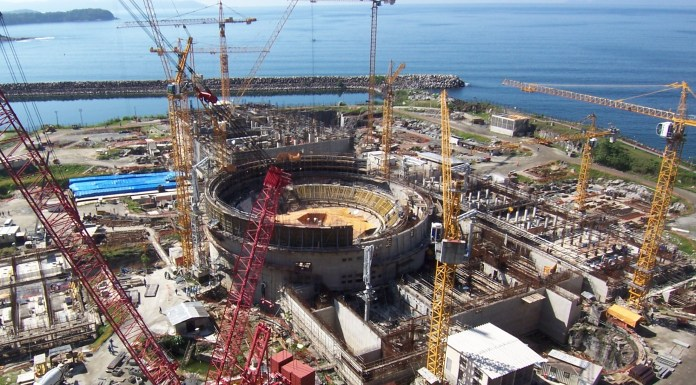 Angra 3 Nuclear Reactor, photo by MinPlanPAC/Flickr Creative Commons License.