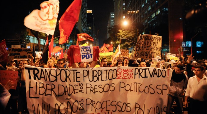 Bus protests spread to other parts of Brazil, and also continued in Rio (pictured) where at least two injuries were sustained, photo by Tânia Rêgo/ABr.