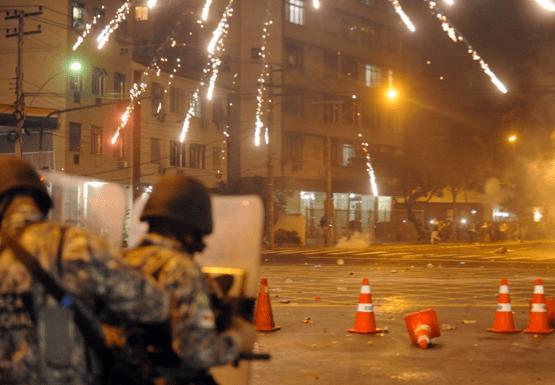 Protest in Rio during Confederations Cup Final, Rio de Janeiro, Brazil News