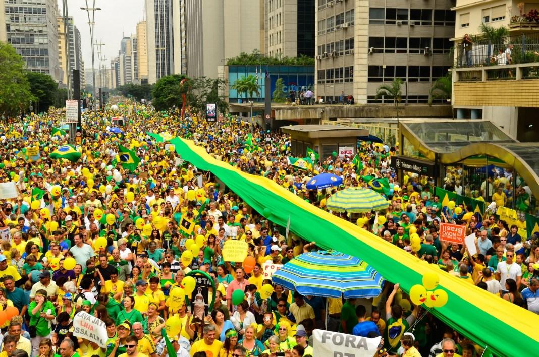 Brazil, São Paulo, corruption, Rousseff, protest