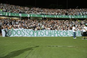 Colombia,Tribute in Medellin, Colombia for the players and staff of the Chapacoense Football team,