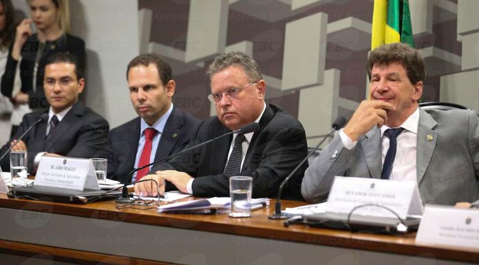 Brazil,Agriculture Minister, Blairo Maggi, defends quality of Brazilian meats during joint session in Congress on Wednesday