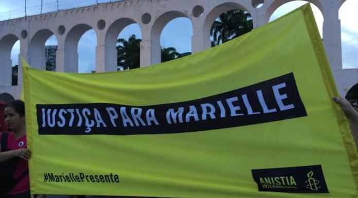 Brazil,Hundreds took to the streets this weekend in several Brazilian cities and across the globe to mark the one month anniversary of Marielle Franco's murder.