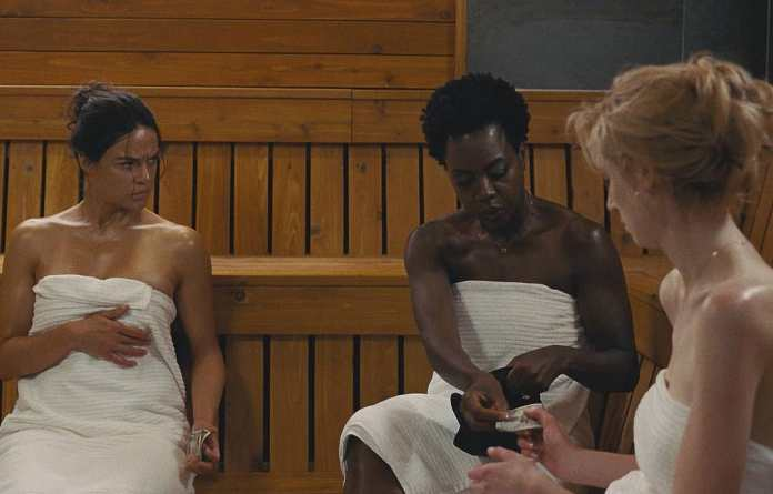 'The Widows' sees Academy Award winning filmmaker Steve McQueen (Twelve Years a Slave, Shame, Hunger) and writer Gillian Flynn (Gone Girl) collaborate to create a heavyweight thriller with a star-studded cast, including in Michelle Rodriguez, Liam Neeson, Colin Farrell, and Robert Duvall, Rio de Janeiro, Brazil, Brazil News,