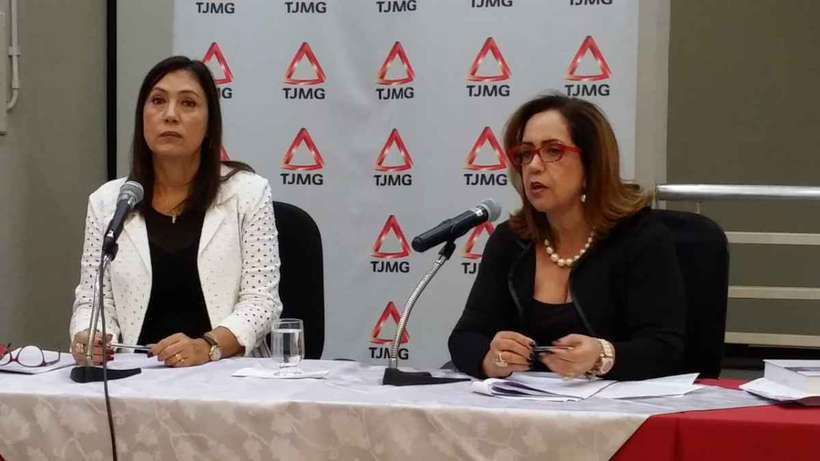 Judges of the Children and Youth Court of Belo Horizonte, Valéria Rodrigues Queiroz and Riza Aparecida Nery,